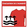 Évacuation de l'humidité